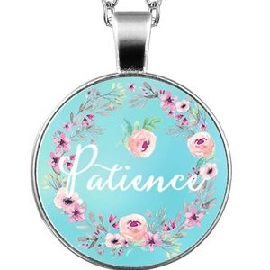 Necklace- NEW- Christian PATIENCE